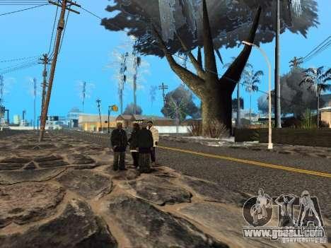New year's Eve at the Grove Street for GTA San Andreas sixth screenshot