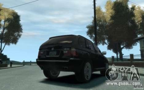 BMW X5 (E53f) 2004 for GTA 4 right view
