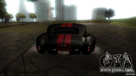 Shelby Cobra Dezent Tuning for GTA San Andreas right view