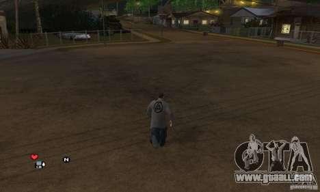 Sweater Linkin Park v0.1 beta for GTA San Andreas second screenshot