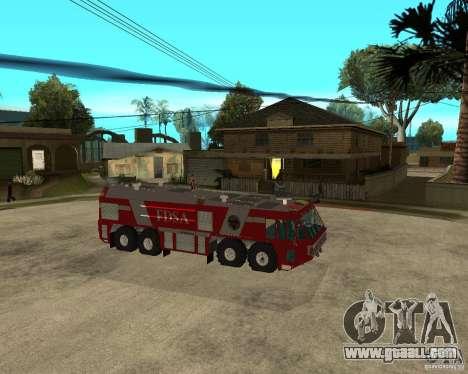 Rosenbauer Simba 8x8 GFLF FDSA for GTA San Andreas