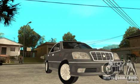Toyota Crown Majesta S170 for GTA San Andreas bottom view