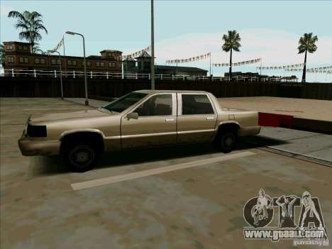 A Short Limousine for GTA San Andreas left view