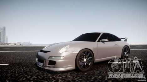 Porsche GT3 997 for GTA 4 left view