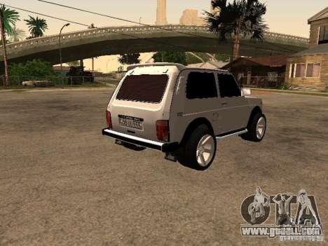 Armenian NIVA DORJAR 4 x 4 for GTA San Andreas right view