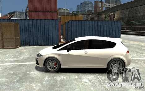 Seat Leon Cupra v.2 for GTA 4 left view