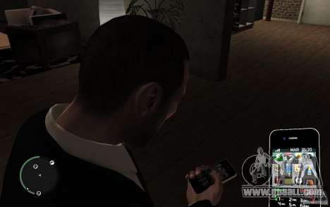iPhone 4 black for GTA 4