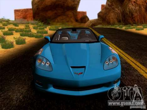 Chevrolet Corvette C6 Convertible 2010 for GTA San Andreas left view