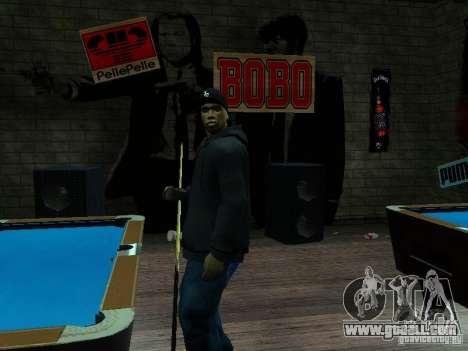 Crips for GTA San Andreas second screenshot