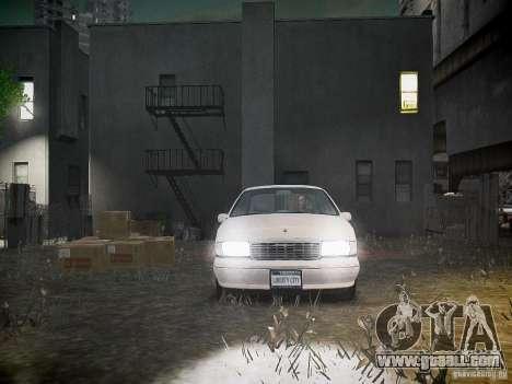 Chevrolet Caprice 1993 Rims 1 for GTA 4 upper view