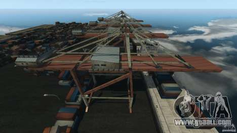 Tokyo Docks Drift for GTA 4 third screenshot