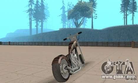 Desperado Chopper for GTA San Andreas left view