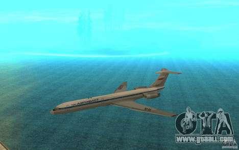 Aeroflot Il-62 m for GTA San Andreas