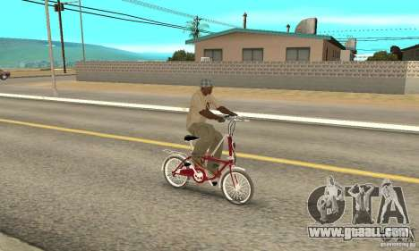 Child Bicycle for GTA San Andreas right view
