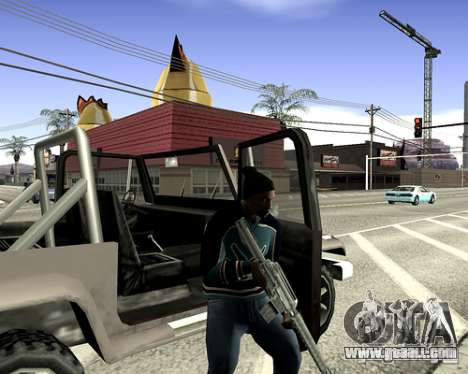 System cover for GTA San Andreas tenth screenshot