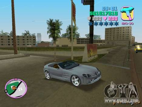 Mercedes-Benz VISION SLR Cabrio for GTA Vice City