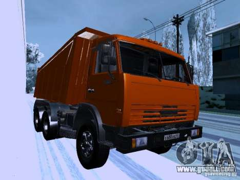 KAMAZ 54115 Truck for GTA San Andreas back view