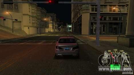 Speedometer VAZ 2110 for GTA San Andreas