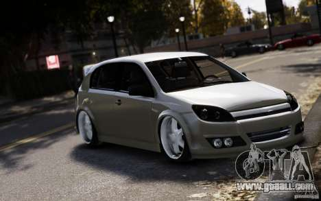 Opel Astra for GTA 4 right view