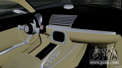 Holden Efijy Concept for GTA 4 inner view