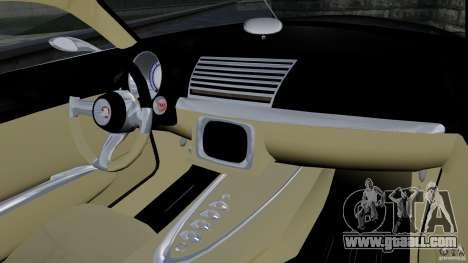 Holden Efijy Concept for GTA 4 inner view