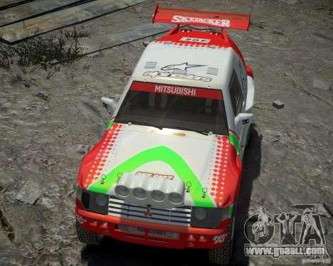 Mitsubishi Pajero Proto Dakar EK86 Vinyl 2 for GTA 4 side view