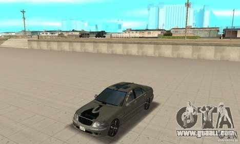 Mercedes Benz AMG S65 DUB for GTA San Andreas