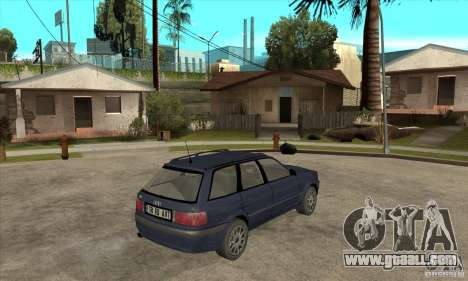 Audi 80 B4 Avant for GTA San Andreas right view