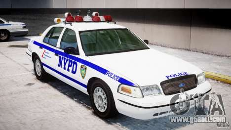 Ford Crown Victoria NYPD for GTA 4 engine