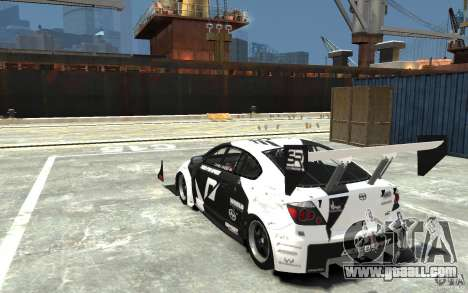 Scion tC AWD V1.0 for GTA 4 back left view