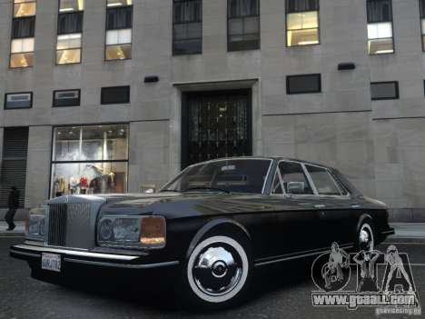Rolls-Royce Silver Spirit 1990 for GTA 4 side view