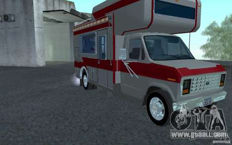 1986 Ford Econoline for GTA San Andreas