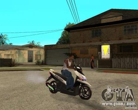Honda Click for GTA San Andreas right view