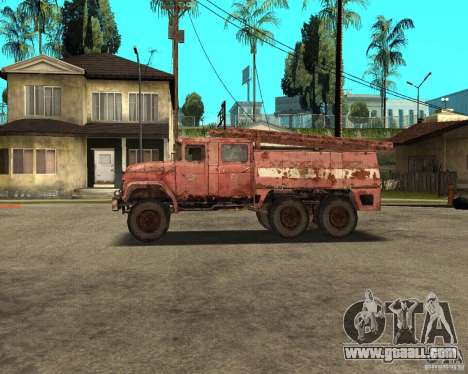 ZIL 131 for GTA San Andreas left view