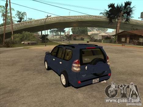 Toyota Land Cruiser Prado for GTA San Andreas back left view
