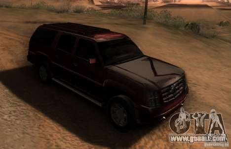 Cadillac Escalade ESV 2006 for GTA San Andreas