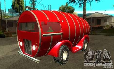 Beer Barrel Truck for GTA San Andreas
