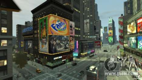 Real Time Square mod for GTA 4 fifth screenshot