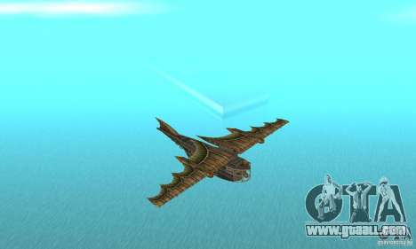 Very nice plane from TimeShift for GTA San Andreas