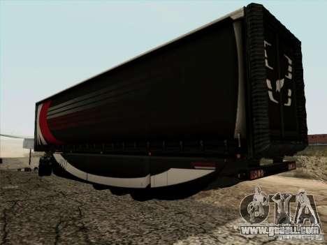 Aero Dynamic Trailer for GTA San Andreas left view