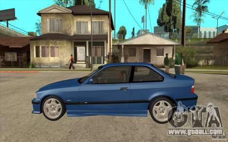 BMW M3 E36 1997 for GTA San Andreas left view