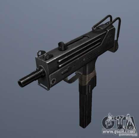 MAC10 for GTA San Andreas