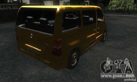 Mercedes Vito for GTA San Andreas right view