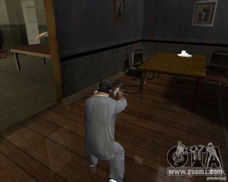 Ingram MAC-10 of counter-strike for GTA San Andreas third screenshot