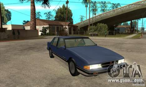 Pontiac Bonneville 1989 for GTA San Andreas back view