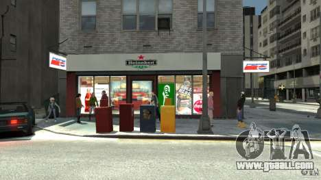 New gas station for GTA 4 fifth screenshot