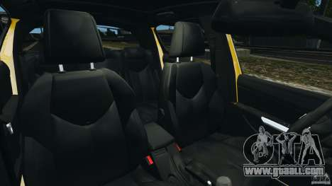 Peugeot 308 GTi 2011 Police v1.1 for GTA 4 inner view