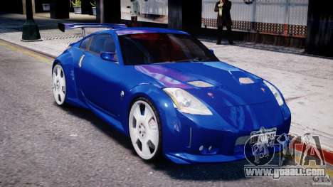 Nissan 350Z Veilside Tuning for GTA 4 bottom view