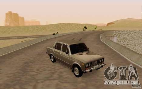 VAZ 2106 Drain for GTA San Andreas upper view