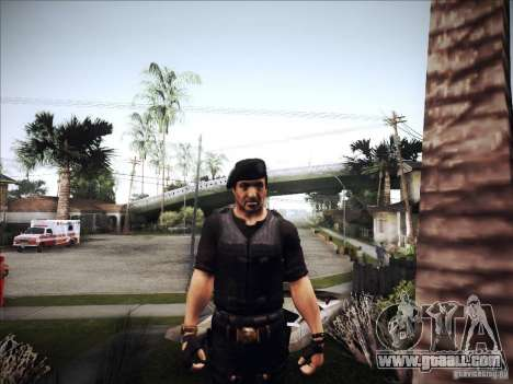 The Expendables for GTA San Andreas forth screenshot